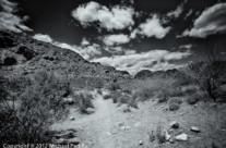 Clouds Over Calico Basin, Las Vegas, NV